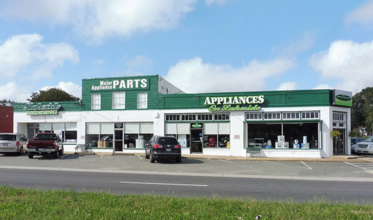 Appliances On Lakeside Storefront